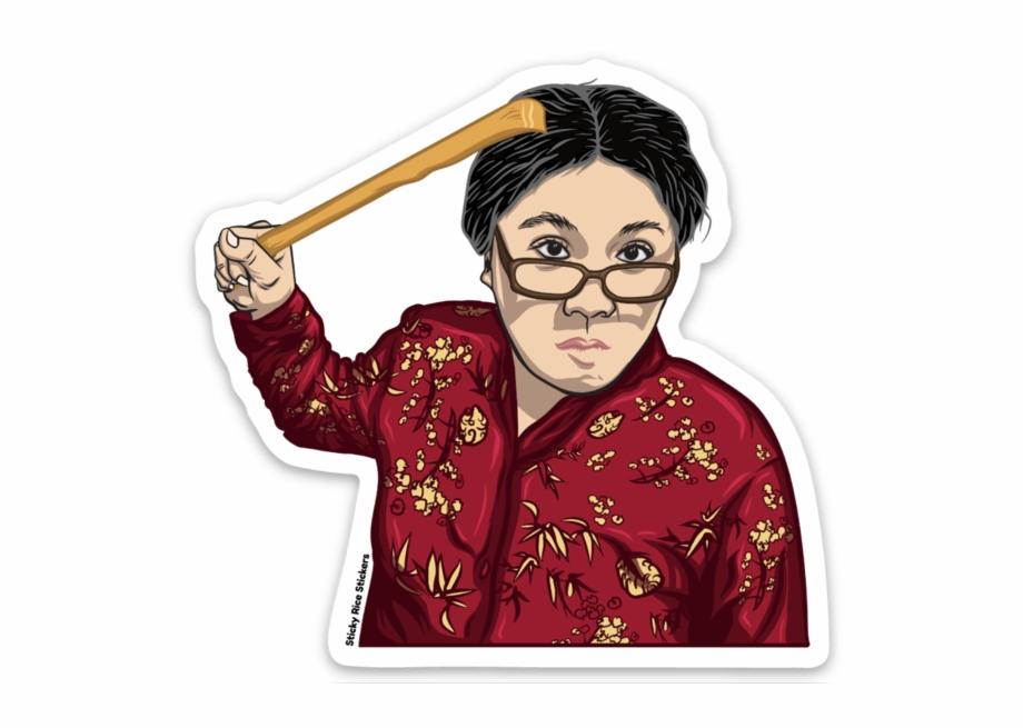 Angry Asian Mom.
