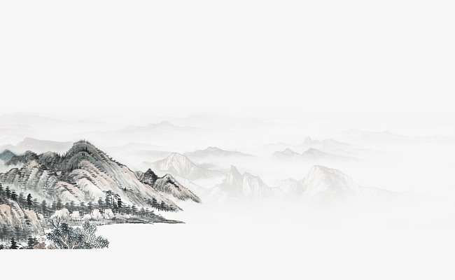 Chinese clipart mountains, Chinese mountains Transparent.