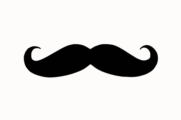Asian mustache clipart clipart images gallery for free.