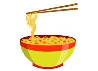 Noodles clipart single, Noodles single Transparent FREE for.