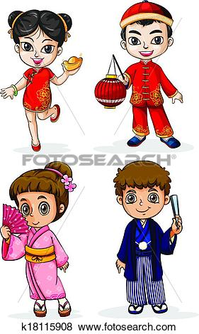 Asian people Clip Art EPS Images. 14,037 asian people clipart.