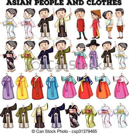 Asian people Clipart Vector and Illustration. 17,833 Asian people.