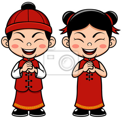 Asian People Clipart.