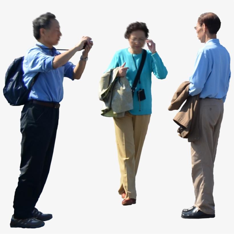 3 Asian Tourist.