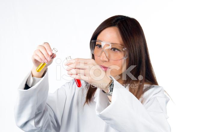 Asian Scientist Stock Photos.