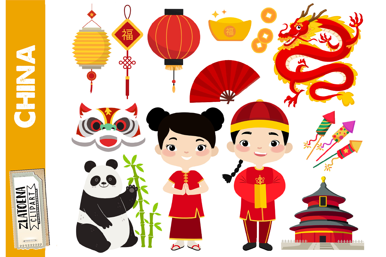 Chinese clipart China graphics Asian clip art Chinese prince.