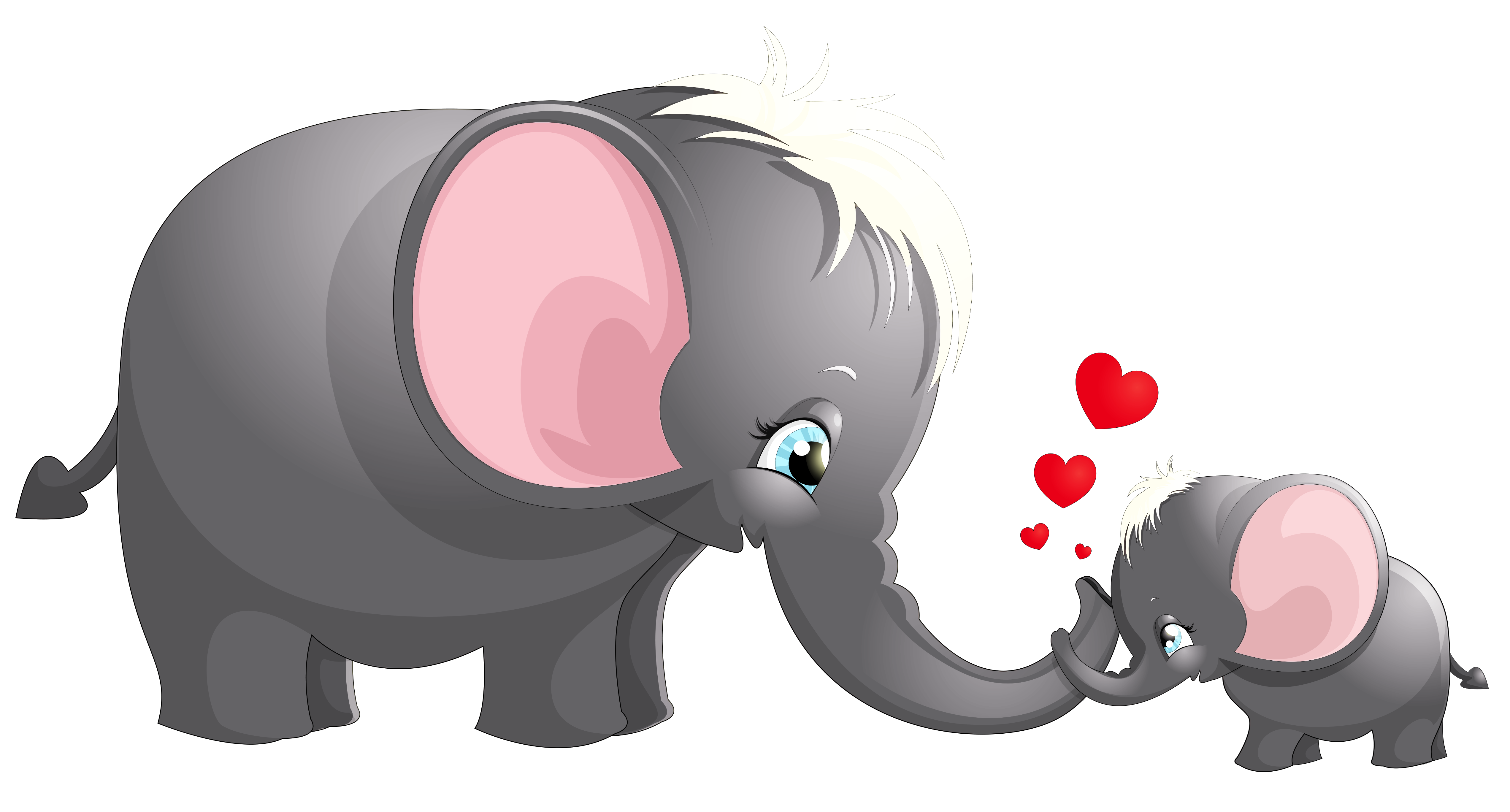 Elephant clipart mother, Elephant mother Transparent FREE.