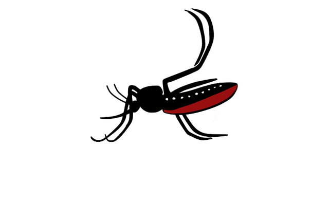 Free photo Disease Aedes Aegypti Charge Illustration Cartoon.