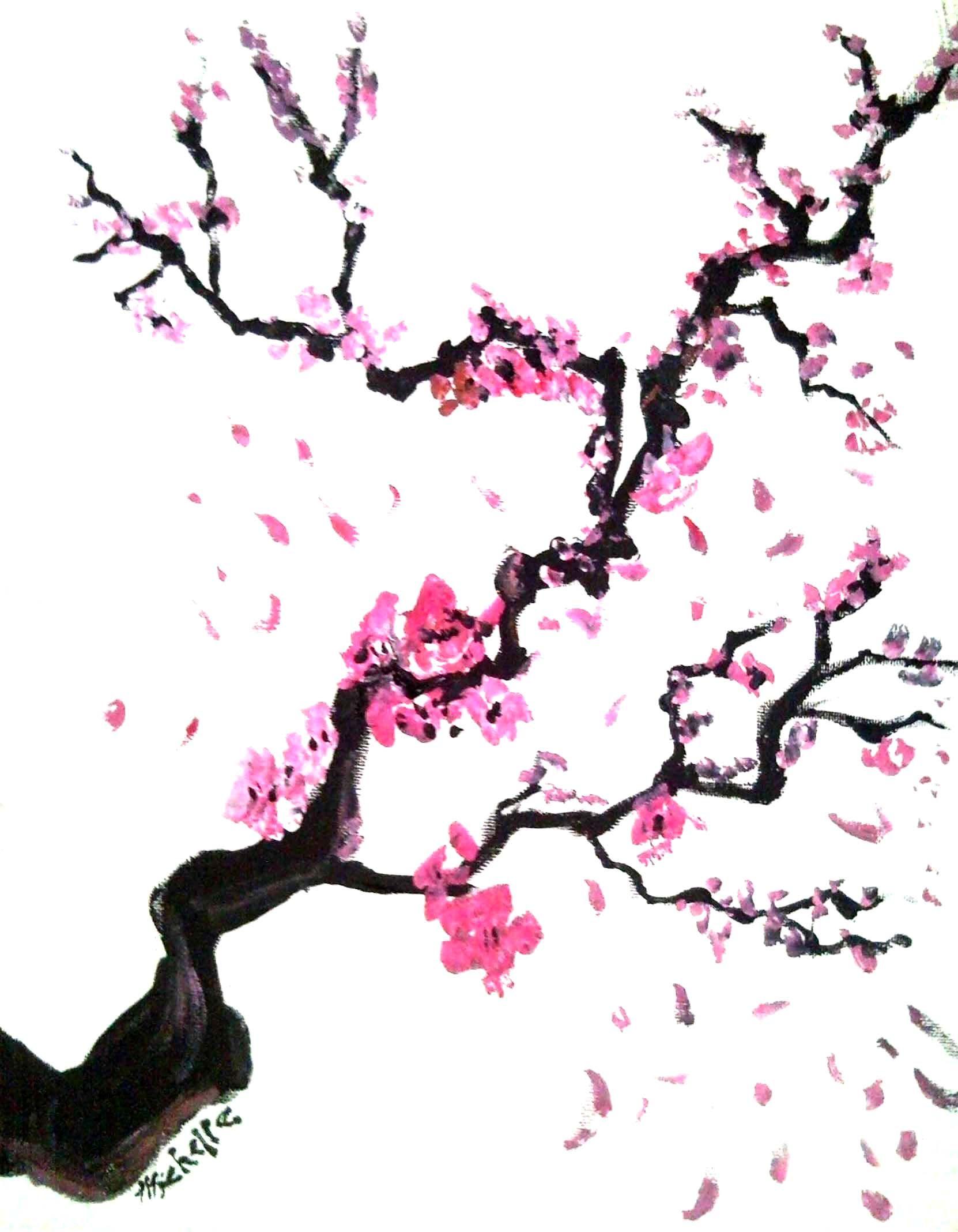 Cherry Blossoms by karmaela on deviantART.