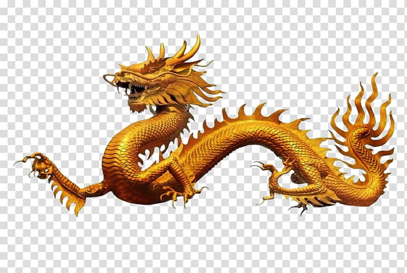 Chinese dragon , Dragon transparent background PNG clipart.