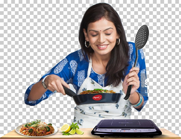 Indian cuisine Cooking Woman Food, cooking PNG clipart.