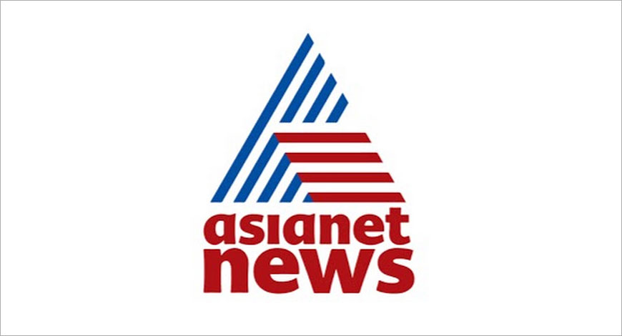 Asianet News communicates news in sign language for hearing impaired.