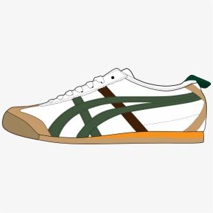 White Men Sport Shoe Png Clipart.