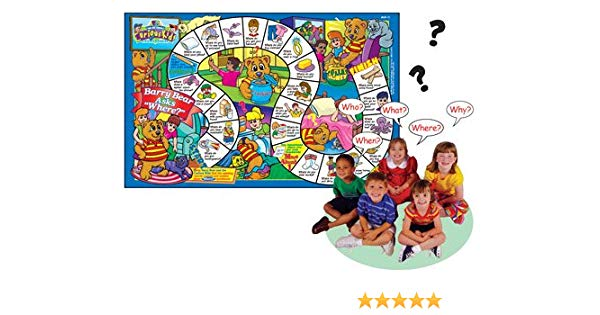 Super Duper Publications Ask and Answer Curious Kids Questions Laminated  Games Educational Learning Resource for Children.