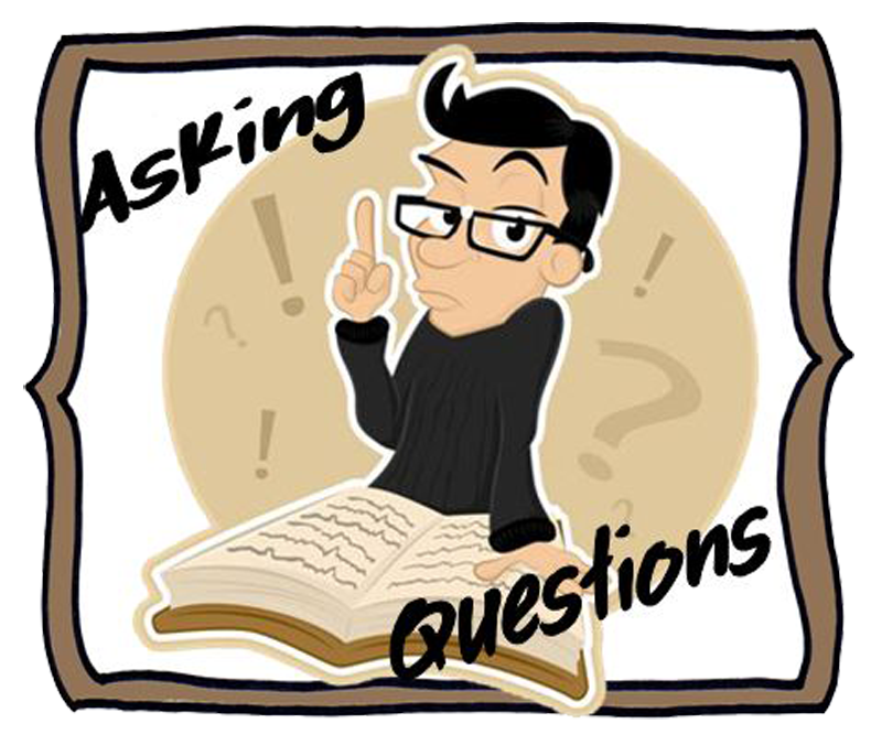 Asking Questions Clipart.