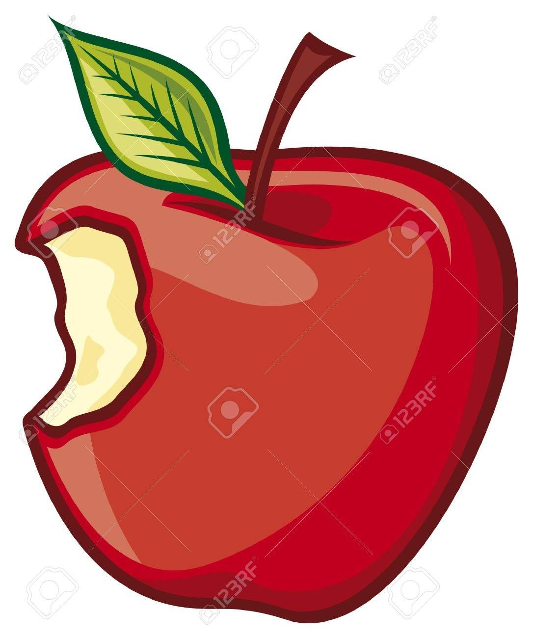 Apple clipart with a bite clipart images gallery for free.