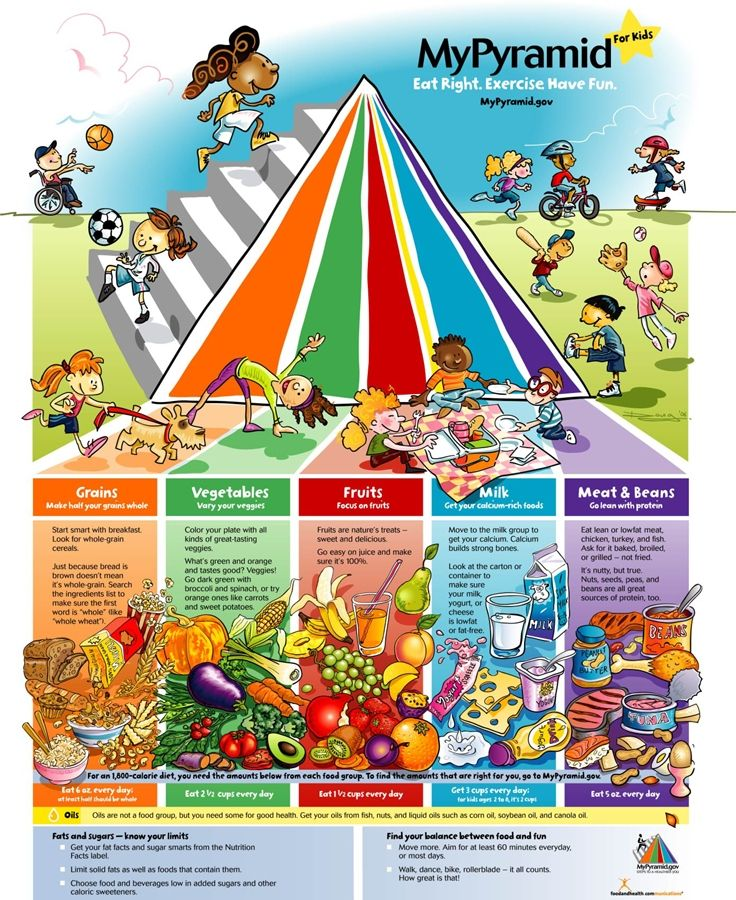 25+ best ideas about Food Pyramid For Kids on Pinterest.