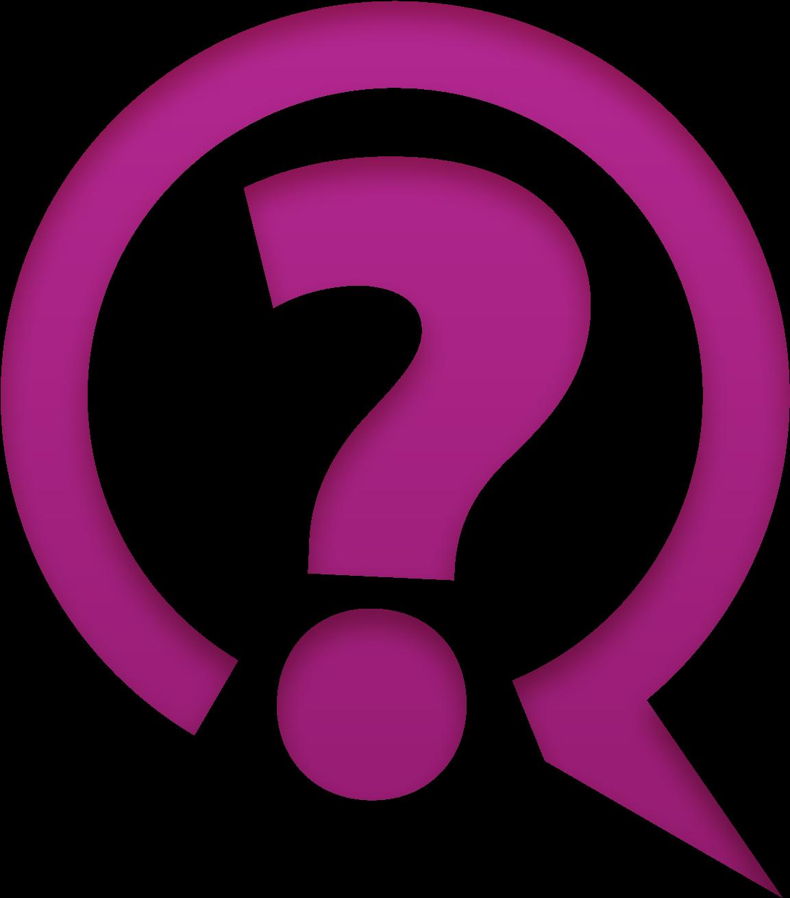 HD Logo Highres Question Mark.