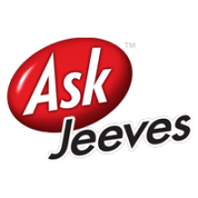 Ask Jeeves logo transparent background.