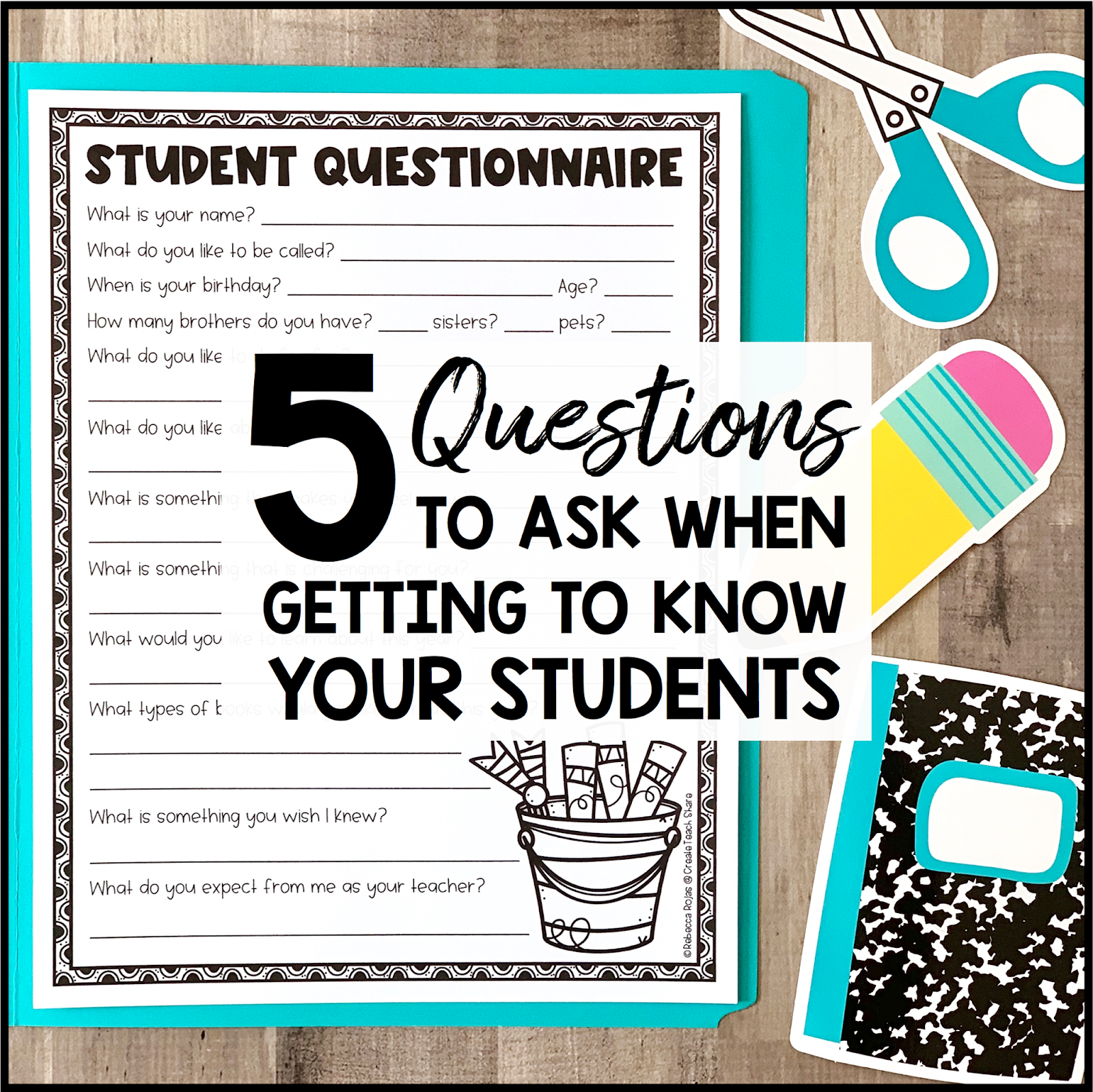 5 Questions to Ask When Getting to Know Your Students.
