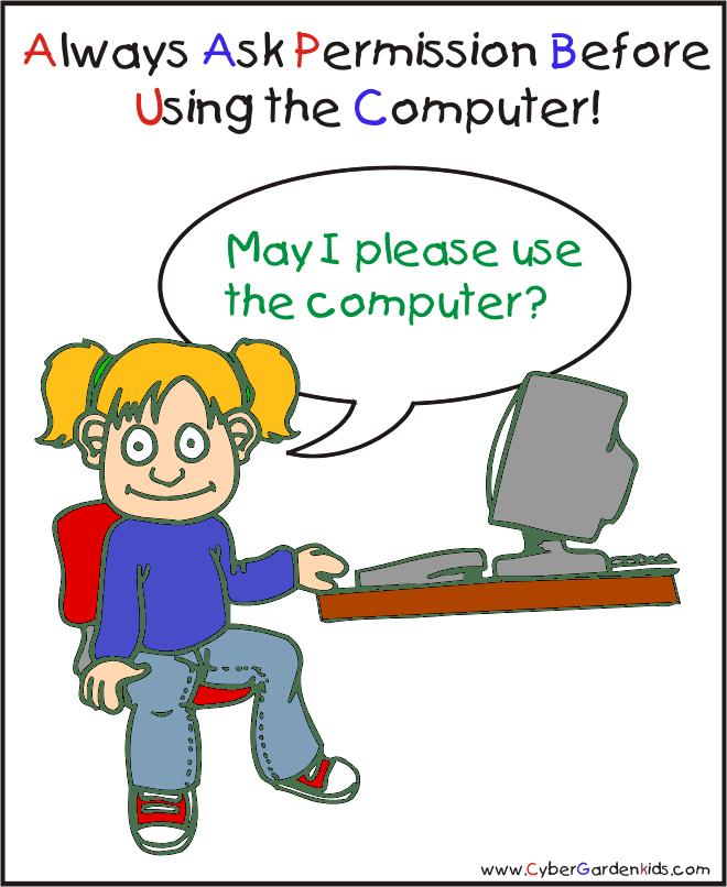 Example Of Asking Permission , Transparent Cartoon.