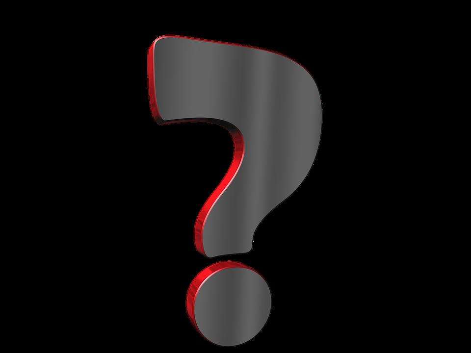 Question Mark Symbol.