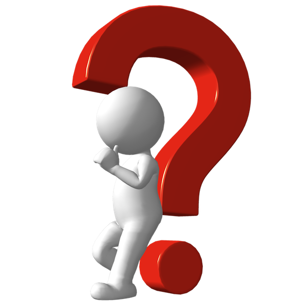 Man Asking Question Clipart.
