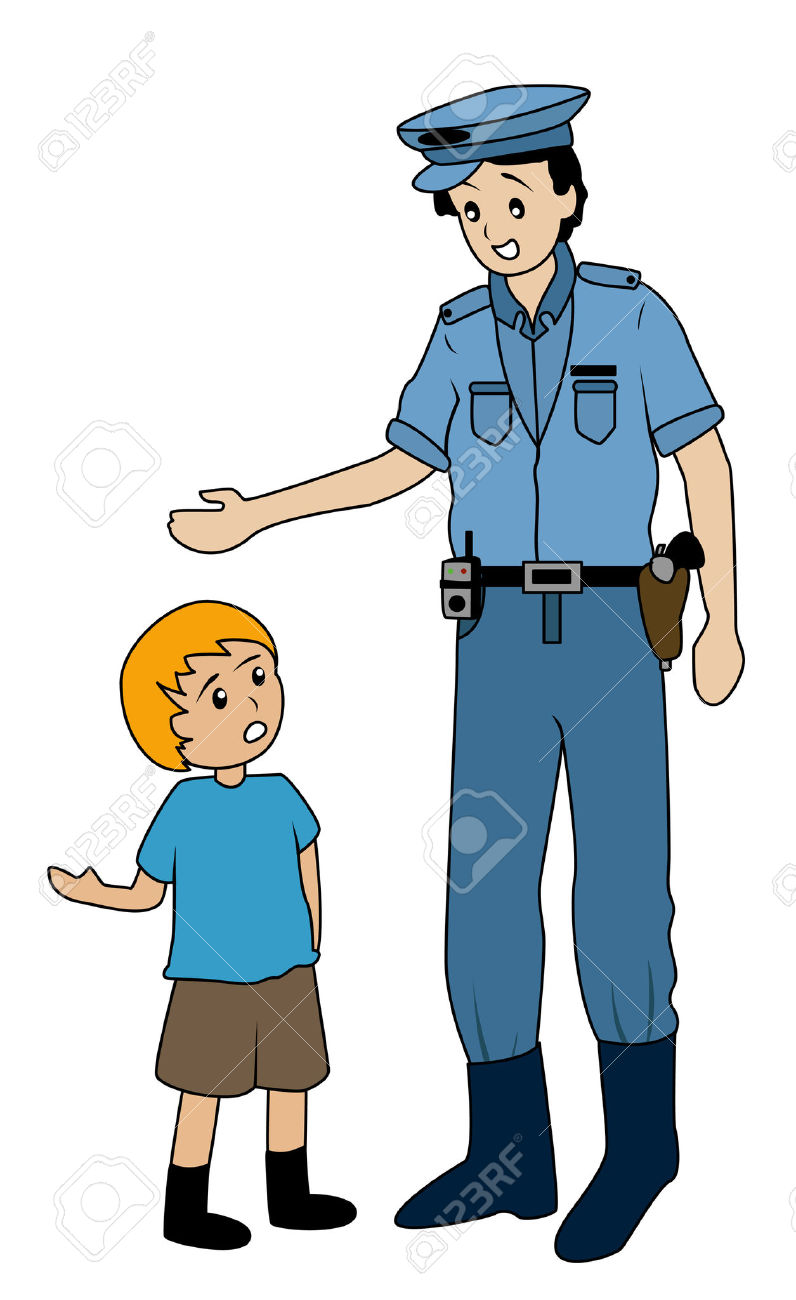 Kid Asking For Help Clipart.
