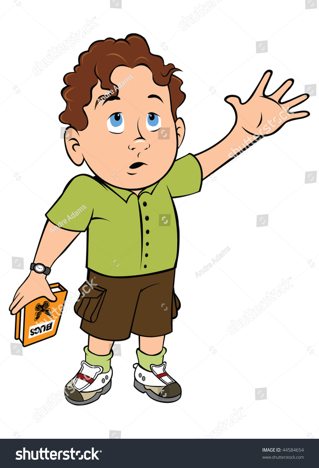 Clipart Boy Asking For Help & Free Clip Art Images #14217.