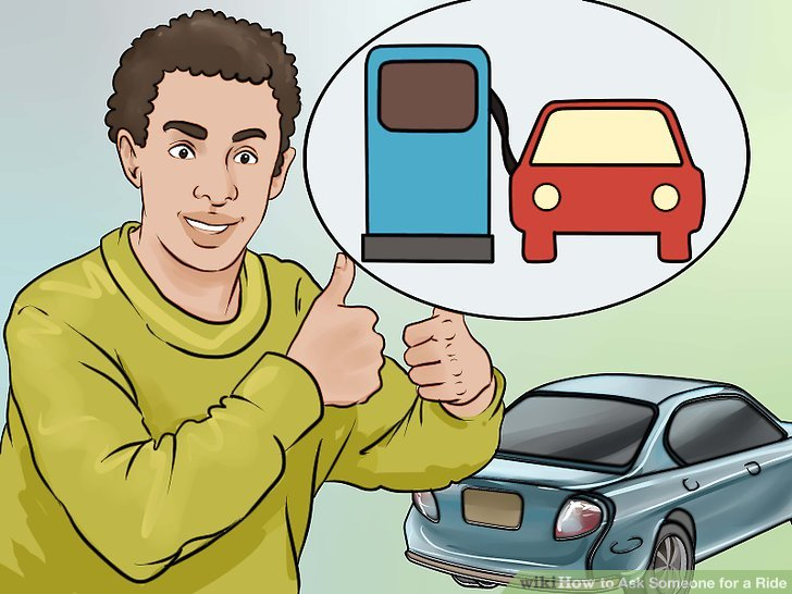 How to Ask Someone for a Ride: 10 Steps (with Pictures.