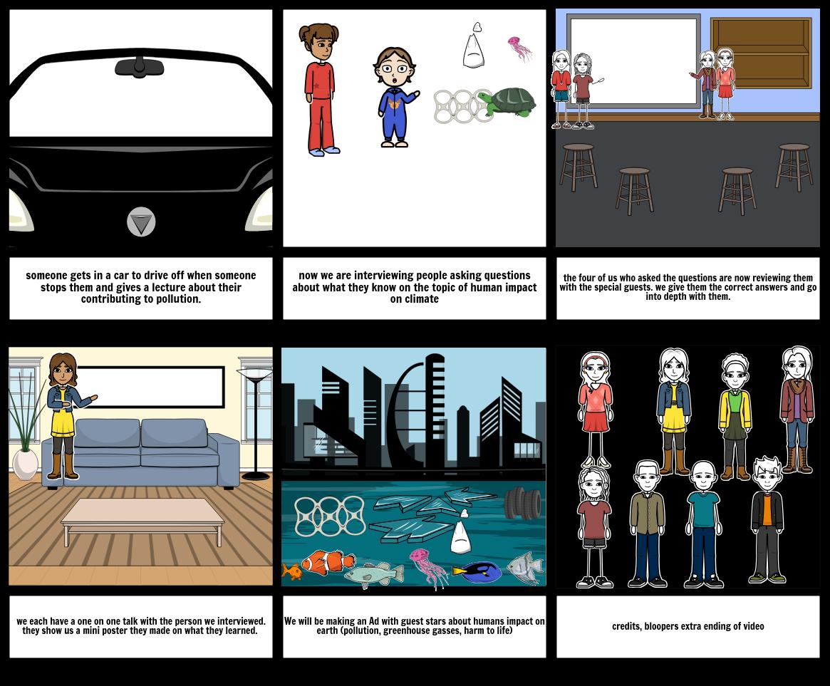 science video Storyboard by karen182.