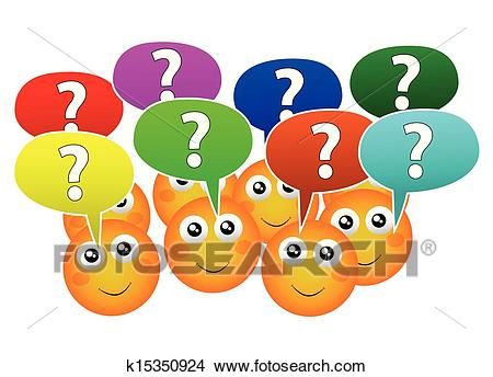 Ask questions Clipart.