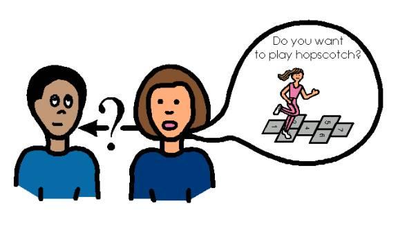 Ask A Friend Clipart.