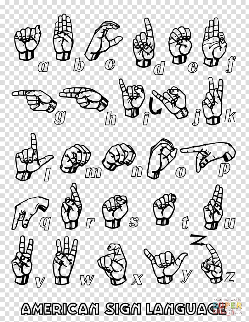 American Sign Language Alphabet British Sign Language, asl.