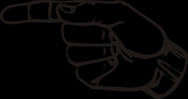 Sign Language G clip art (107901) Free SVG Download / 4 Vector.
