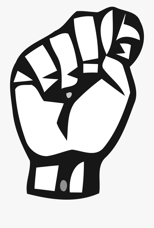 Sign Language Letters T , Transparent Cartoon, Free Cliparts.