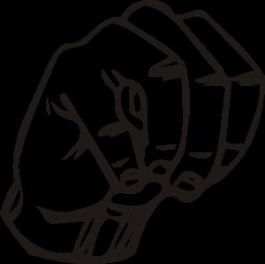 Sign Language M Clip Art at Clker.com.