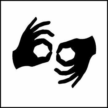 ASL #CLIPART #LETTER #HANDSHAPE INTERPRETER.