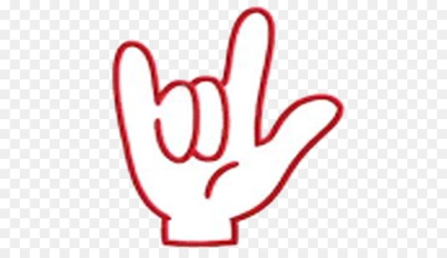 Sign language ILY sign Love Clip art.