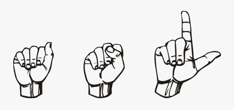 Asl In Sign Language , Free Transparent Clipart.
