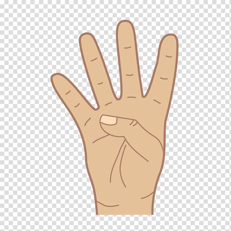 American Sign Language Hand, asl transparent background PNG.