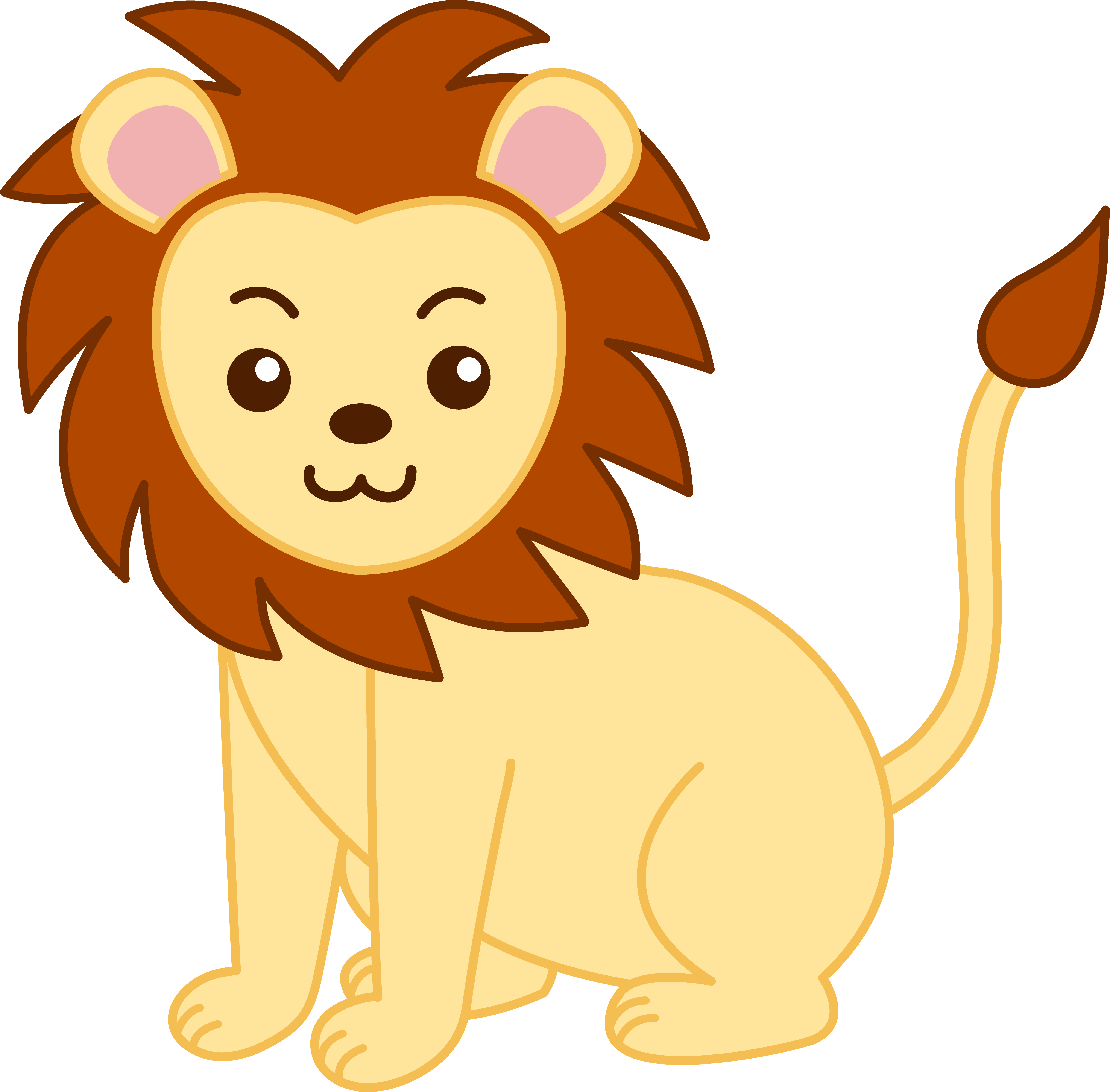 Clipart aslan 2 » Clipart Portal.