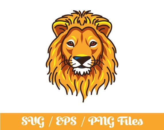 Lion SVG.