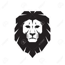 Image result for aslan black and white graphic.