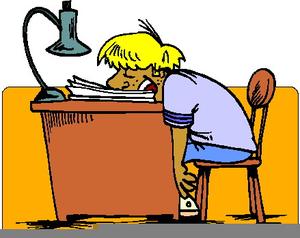 Sleeping clipart desk clipart, Sleeping desk Transparent.