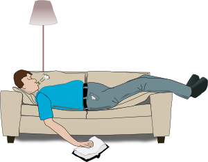 Addon Sleeping Clip Art at Clker.com.