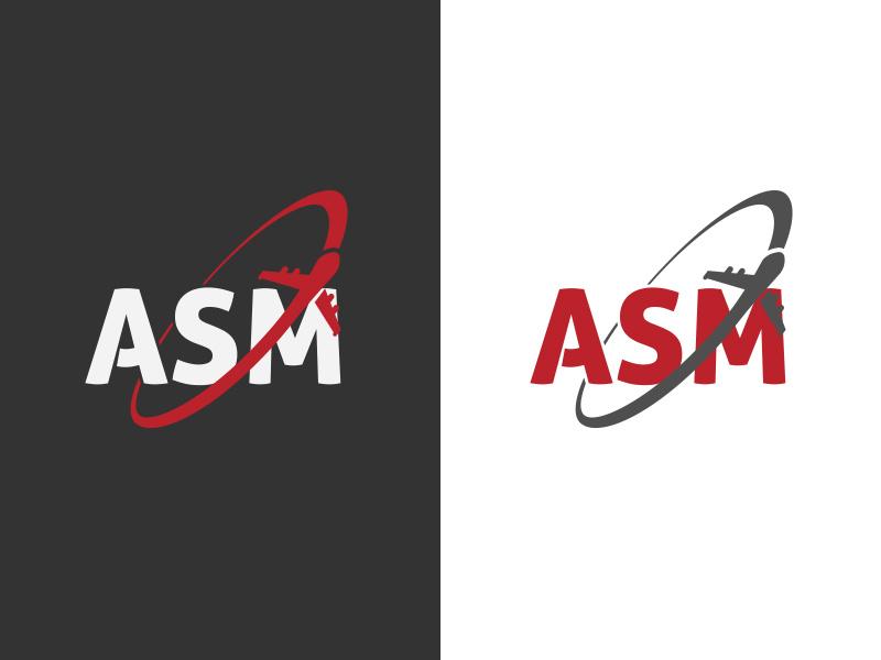 ASM Global Logistics logo by Leonardo F. Dias on Dribbble.