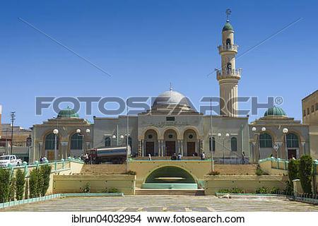 "Stock Photo of ""Al Quarafi al Rashidin Mosque, Asmara, Eritrea."