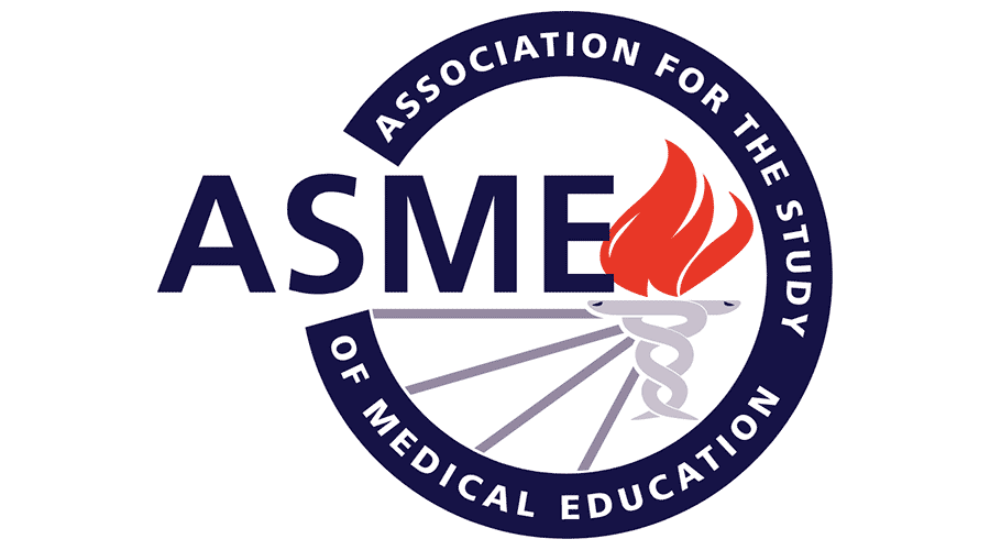 Association for the Study of Medical Education (ASME) Logo.