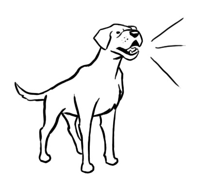 Dog Drawings Clip Art.